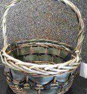 Cane Basket Grey