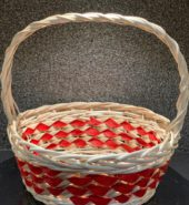 Cane Basket Red