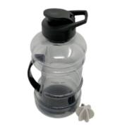 Gallon Water Bottle, Sports Fitness Bottle 1500 ml 1500 ml Bottle  (Pack of 1, Black, Plastic)