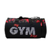 VISTA Gym Red Jungle  (Black, Kit Bag)