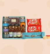 Crunchy & Healthy Rakhi Combo