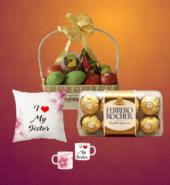 Supreme Rakhi Fruit Basket Combo