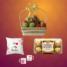 Supreme Rakhi Fruit Basket Combo1